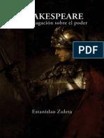 SHAKESPEARE. Una indagación sobre el poder. Estanislao Zuleta