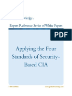 WP CS Applying the Four Standards of Security-Based CIA
