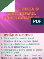 Tema 5. Piața Și Mecanismul Fucnționării Ei.