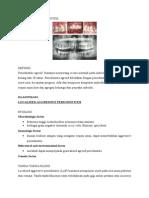 Aggresive Periodontitis