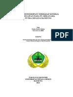 Pengaruh Disiplin Terhadap Kinerja Karyawan Pada Pt. Rekatama Putra Gegana Bandung