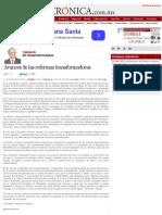 La Crónica de Hoy | Avances de las reformas transformadoras