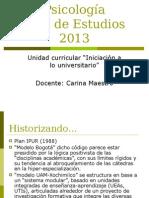 Plan de Estudios 2013 tutorías psicoudelar