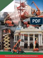 Catalogo de Plataformas de Trabalho Aerea - Mills