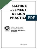 Machine Element Design Practice