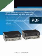 Digitales KVM-Switching und KVM-Extension u.a mit Punkt-zu-Multipunkt-Verbindung (PTMP)