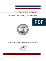 Scott County Audit, FY 2013-2014