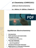 Topic 8 Electrochemistry