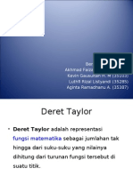 Deret Taylor Dan Maclaurin_MATEK