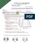 Ficha Funçoes Estatistica