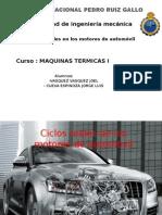 (Exposision) Ciclos Reales en Motores de Combustion Interna