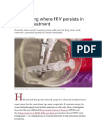 Discovering Where HIV Persists Inspite of Treatment Eng