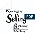 7323296 Brian Tracy Psychology of Selling Manual