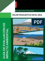 Guia valoración del paisaje