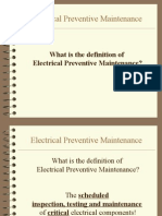 electrical Preventive Maintenance