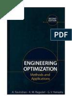 Engineering Optimization, 2nd Ed, Wiley (2006)