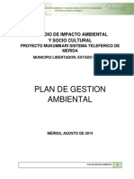 Plan de Gestion Ambiental
