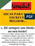 DICAS PARA ESCREVER MELHOR II.pdf