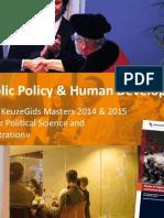 MSc Public Policy & Human Development