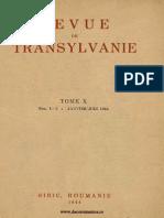 Revue de Transylvanie 3