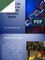 Escena Del Crimen y La Cadena de Custodia 2014 Ncpp