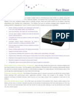 Solstice Pod Fact Sheet