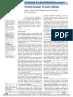 2014 - The Differential Diagnosis of Spastic Diplegia