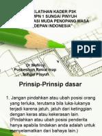 Penyuluhan P3k SMP