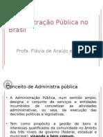 Aula 1 - Administração Pública No Brasil