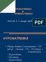 Hiponatremi & Hypernatremi