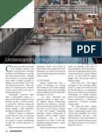 Understanding Integral Waterproofing