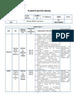 Ciencias Naturales Planificacion- 6 Basico