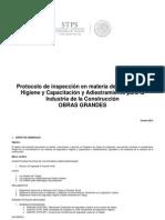 Protocolo de Inspección en la Construcción STPS