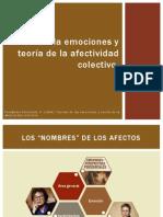 Teoría de La Emociones y Teoría de La Afectividad Colectiva - Pablo Fernández