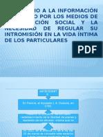 El Derecho a La Informacion Por Los Medios de Comunicacion Social Ruben