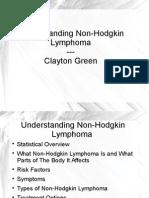 Non Hodgkin Lymphoma Presentation