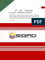2. Manual de Usuario - SIGAD Version 2 0