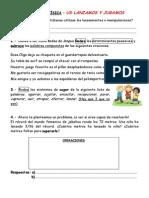 Ficha Competencias Manipulaciones 4º