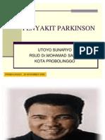 Slide Presentasi Parkinson Disease