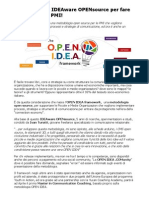 Metodologia OpenSource PMI per sviluppare processi e strategie di comunicazione