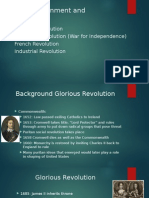 the enlightenment and revolutions for web