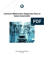 common malfunctions of Geely MK