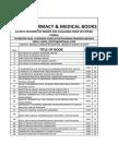 Latest Pharmacy & Medical Books