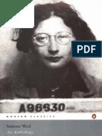 Weil, Simone - An Anthology