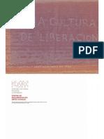 x Una Cultura de La Liberacion