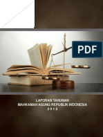 Laporan Tahunan Mahkamah Agung Republik Indonesia 2013