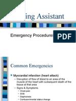 Nursing Assistant - Emergency Procedures