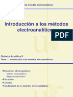 Tema 11.Introduccion Electroanalisis