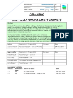 Appendix 1 URS for Isolator and Safety Cabinets