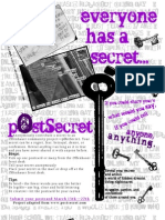postsecret poster